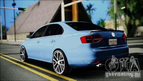Volkswagen Jetta 2015 для GTA San Andreas вид слева