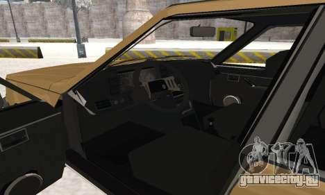 Renault 18 для GTA San Andreas вид снизу