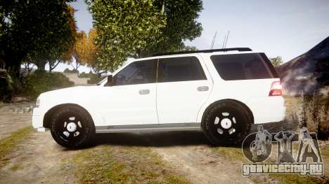Ford Expedition West Virginia State Police [ELS] для GTA 4 вид слева