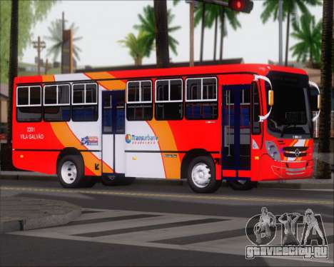 Caio Foz Super I 2006 Transurbane Guarulhoz 2201 для GTA San Andreas вид сзади слева