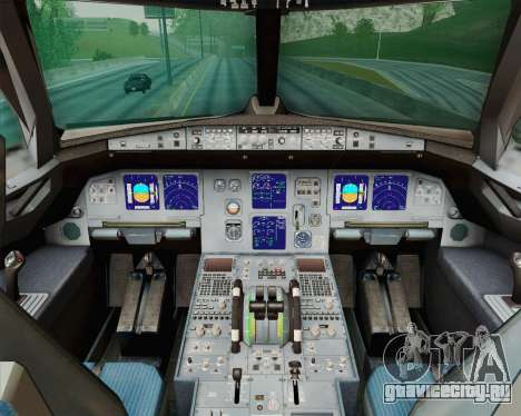Airbus A321-200 Royal New Zealand Air Force для GTA San Andreas вид сбоку