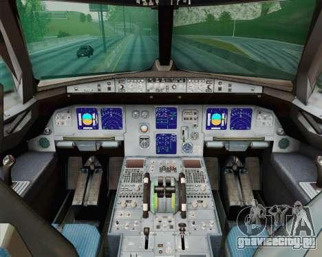 Airbus A321-200 Royal New Zealand Air Force для GTA San Andreas вид сбоку