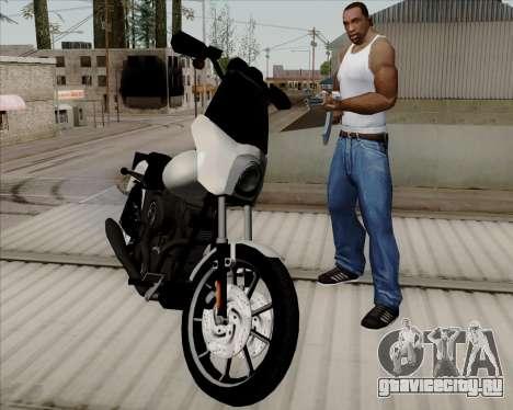 Harley-Davidson FXD Super Glide T-Sport 1999 для GTA San Andreas