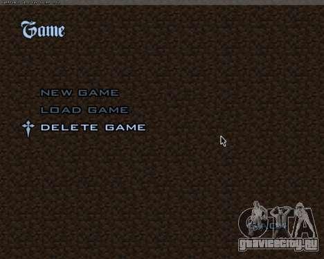 Minecraft Меню для GTA San Andreas четвёртый скриншот