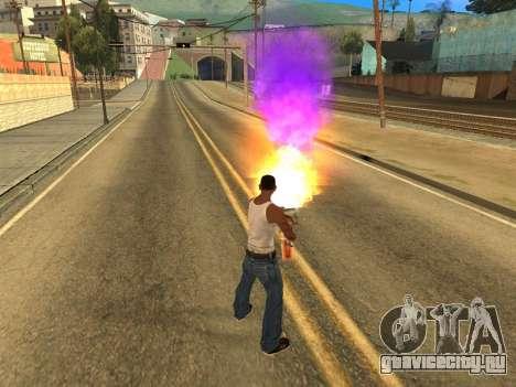 Fagot Funny Effects 1.1 для GTA San Andreas третий скриншот