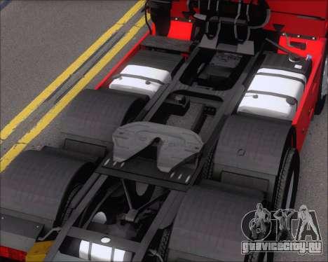 Iveco Stralis HiWay 6x4 для GTA San Andreas вид сбоку