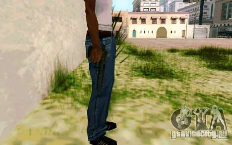 Desert Eagle (Dodgers) для GTA San Andreas четвёртый скриншот