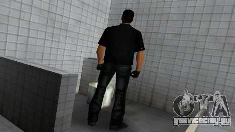 Tommy In Black для GTA Vice City