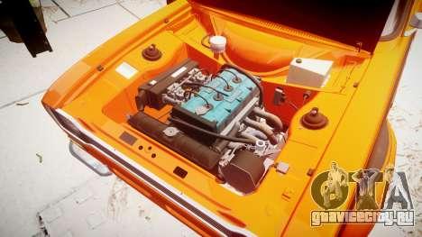 Ford Escort RS1600 PJ44 для GTA 4 вид сзади