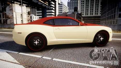 Chevrolet Camaro SS для GTA 4 вид слева