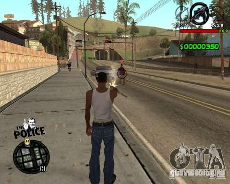 C-HUD by Jim для GTA San Andreas второй скриншот