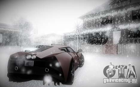 Зимний ENBSeries 2.0 для GTA San Andreas четвёртый скриншот