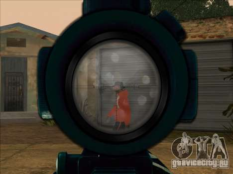 Sniper Skope Mod FIX для GTA San Andreas