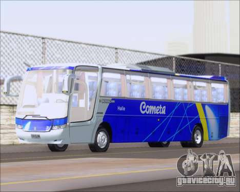 Busscar Vissta Buss LO Cometa для GTA San Andreas вид слева