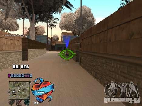 C-HUD Сердце для GTA San Andreas четвёртый скриншот