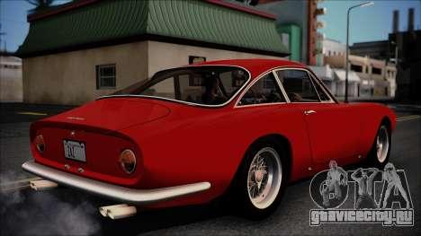 Ferrari 250 GT Berlinetta Lusso 1963 [ImVehFt] для GTA San Andreas