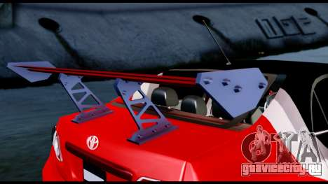 Toyota Corolla 2012 LOJACK Racing для GTA San Andreas вид сзади