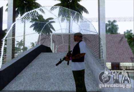 АКМн с ПБС для GTA San Andreas третий скриншот