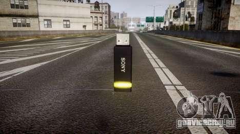 USB-флеш-накопитель Sony yellow для GTA 4 второй скриншот