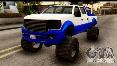 GTA 5 Vapid Sandking XL IVF для GTA San Andreas