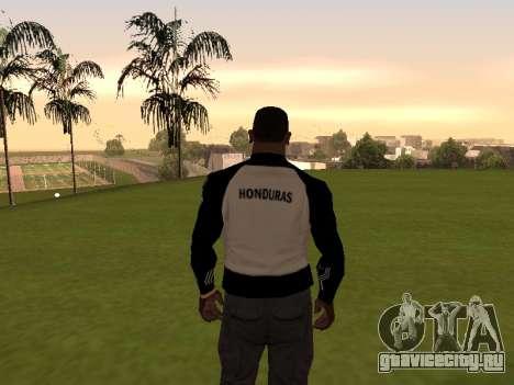 Adidas Honduras Track Jacket для GTA San Andreas второй скриншот