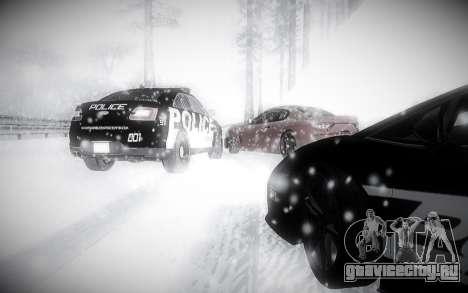 Зимний ENBSeries 2.0 для GTA San Andreas пятый скриншот