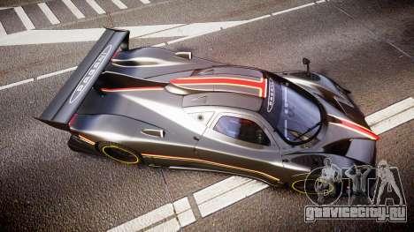 Pagani Zonda Revolution 2013 для GTA 4 вид справа