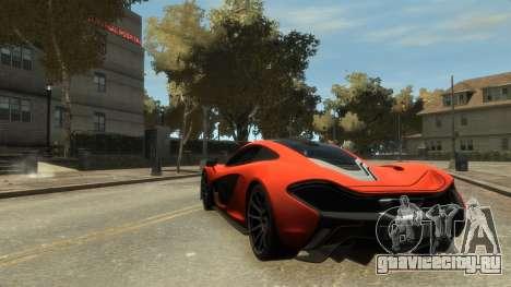 McLaren P1 2013 [EPM] для GTA 4 вид справа