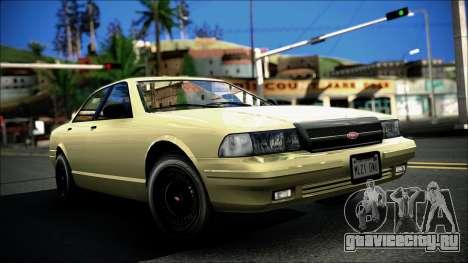 Civillian Vapid Stanier II from GTA 4 для GTA San Andreas