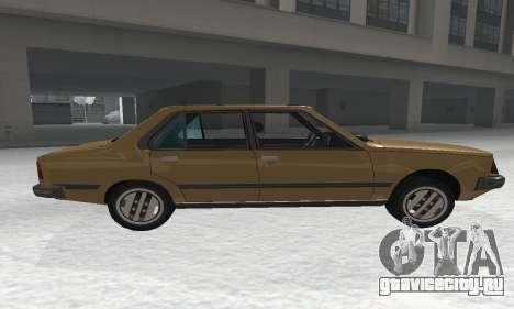 Renault 18 для GTA San Andreas вид слева