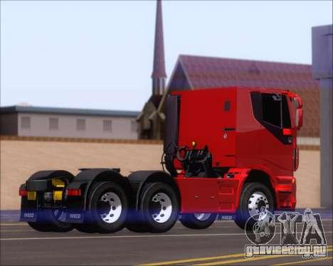 Iveco Stralis HiWay 6x4 для GTA San Andreas вид справа