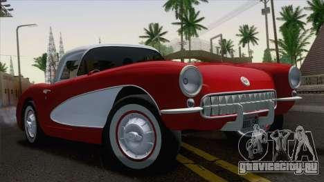 Chevrolet Corvette C1 1957 для GTA San Andreas
