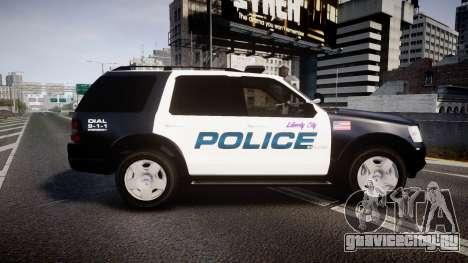 Ford Explorer 2008 Police [ELS] для GTA 4