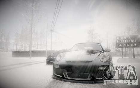 Зимний ENBSeries 2.0 для GTA San Andreas