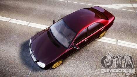 Mercedes-Benz S600 W220 для GTA 4 вид справа