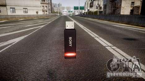 USB-флеш-накопитель Sony red для GTA 4 второй скриншот
