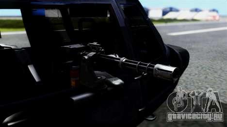 Harbin Z-9 BF4 для GTA San Andreas вид сзади слева