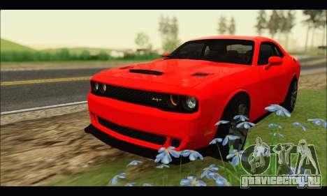 Dodge Challenger SRT HELLCAT 2015 для GTA San Andreas