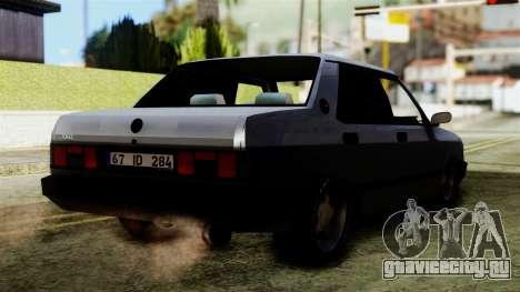 Tofas Dogan SLX для GTA San Andreas вид слева