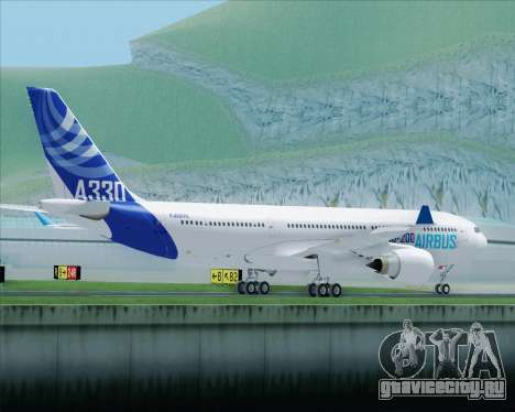 Airbus A330-200 Airbus S A S Livery для GTA San Andreas вид сбоку