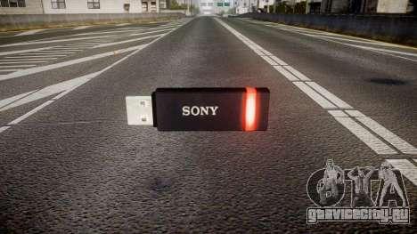 USB-флеш-накопитель Sony red для GTA 4