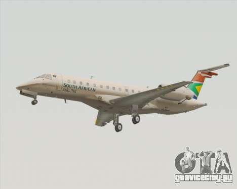 Embraer ERJ-135 South African Airlink для GTA San Andreas вид слева