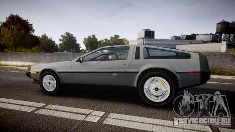 DeLorean DMC-12 [Final] для GTA 4 вид слева