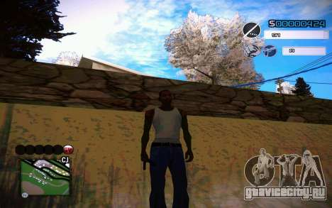 C-HUD by Jeremy Wilsher для GTA San Andreas четвёртый скриншот