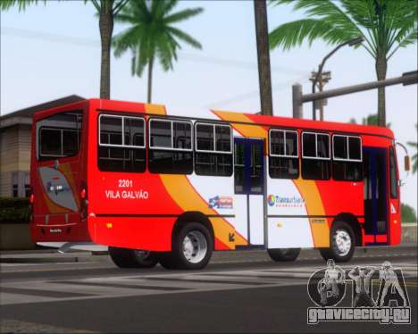 Caio Foz Super I 2006 Transurbane Guarulhoz 2201 для GTA San Andreas вид сзади