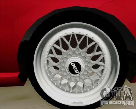 Fiat Siena 2008 для GTA San Andreas вид сбоку