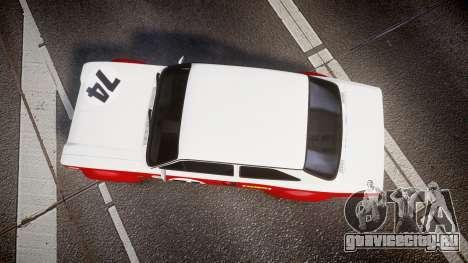 Ford Escort RS1600 PJ74 для GTA 4 вид справа
