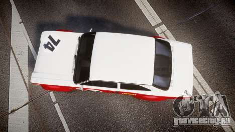 Ford Escort RS1600 PJ74 для GTA 4
