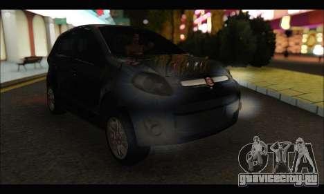 Fiat Palio 2013 для GTA San Andreas вид слева