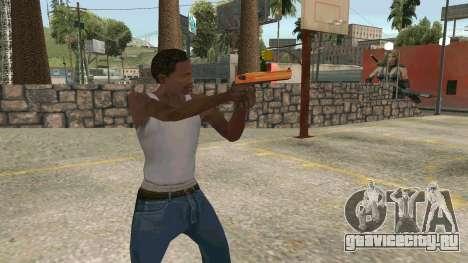 Orange Desert Eagle для GTA San Andreas третий скриншот